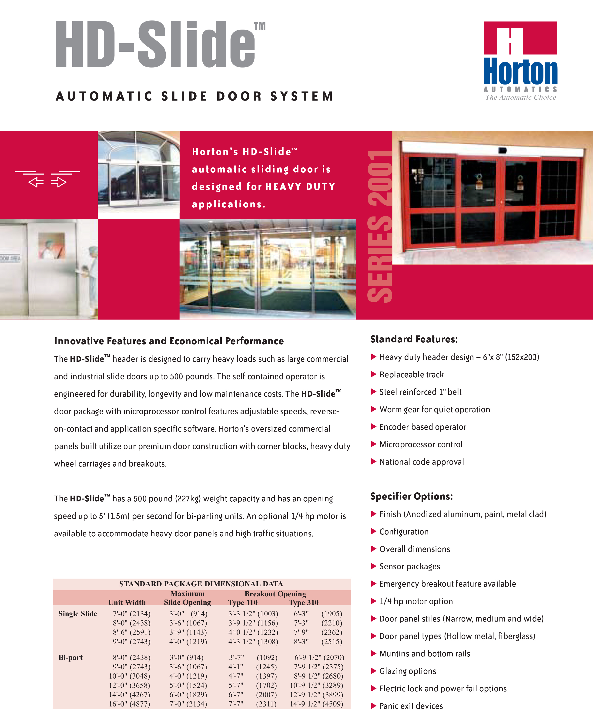Horton HD Slide-1