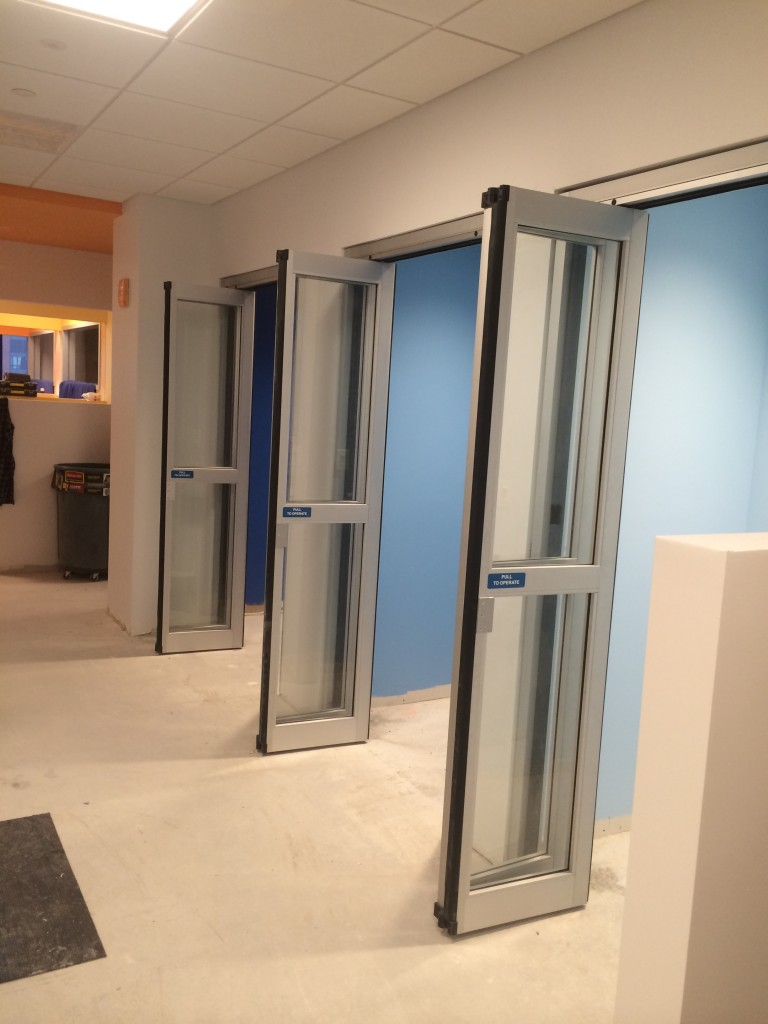 Return Of The Phone Booth Automatic Door Installation