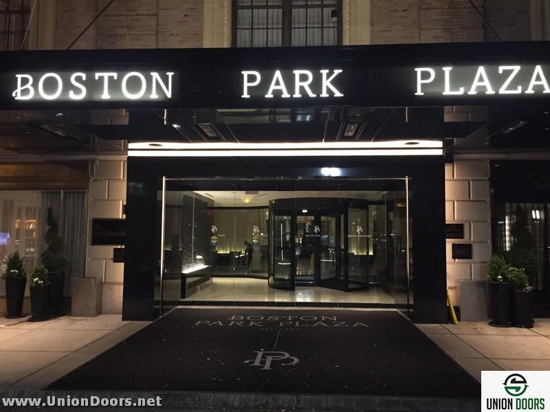CLICK ... & The Boston Park Plaza Hotel - Automatic Door Installation and Service MA