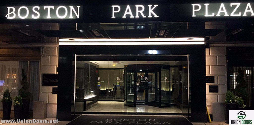 CLICK ...  sc 1 st  Union Doors & The Boston Park Plaza Hotel - Automatic Door Installation and Service MA