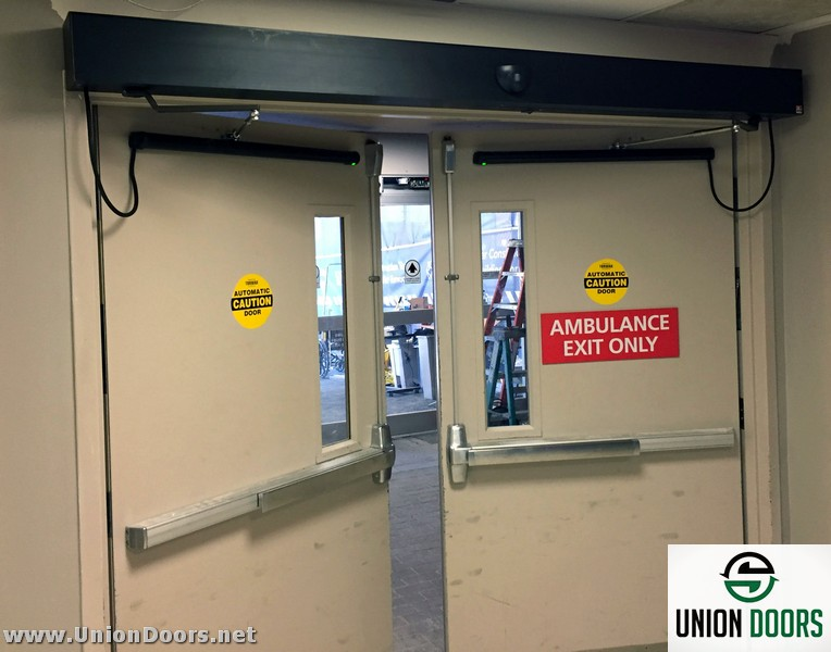 UnionDoors & Boston Medical Center - Automatic Door Installation and Service MA